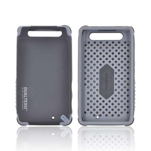 Original PureGear Motorola Droid RAZR DualTek Extreme Shock Hybrid Hard Case w/ Screen Protector, 02-001-01155 - Black/ Gray