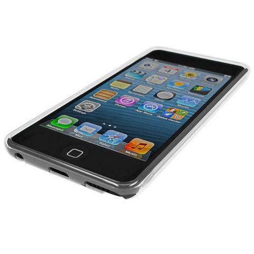 Clear CellHelmet Super Tough Crystal Silicone Case w/ Accidental Damage Coverage for Apple iPod Touch 5 - CH-iPod-5-Clear