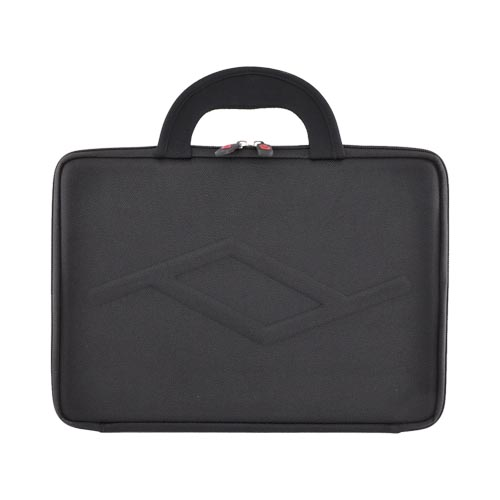 "Original Kroo 12"" Notebook Nylon Case w/ Handles, 1-MACND - Black"