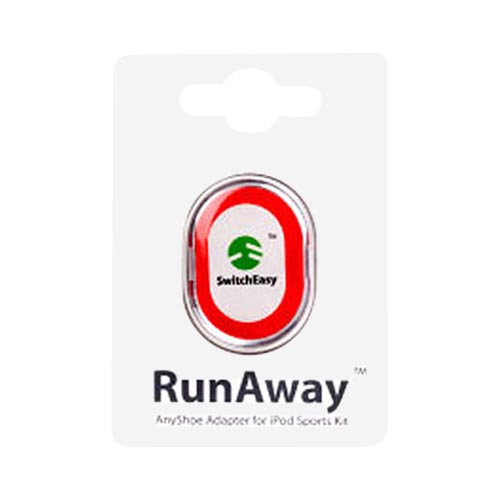Original SwitchEasy Apple RunAway Nike Plus iPod AnyShoe Case,100-RA-002-W - White