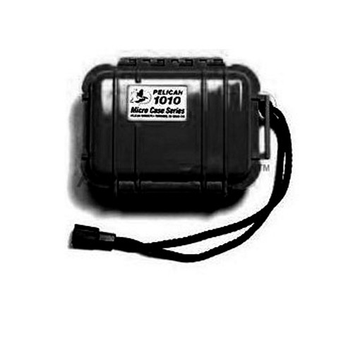 Pelican Water Proof Case w/ Pressure Purge Valve, 1010 ( FS, FM, BS ) - Black