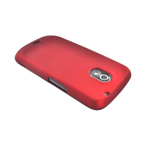 Premium Samsung Galaxy Nexus Rubberized Hard Case - Red