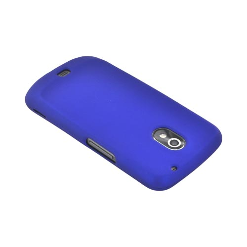 Premium Samsung Galaxy Nexus Rubberized Hard Case - Blue