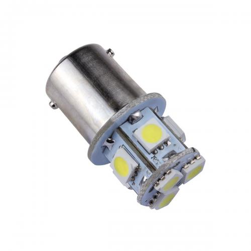 1156 LED Bulb - 8 SMD LED Tower - BA15S Retrofit [Blue Light] - Perfect for Vehicle Tail Lights, Brake Lights, Reverse Lights, Turn Signals, ETC!