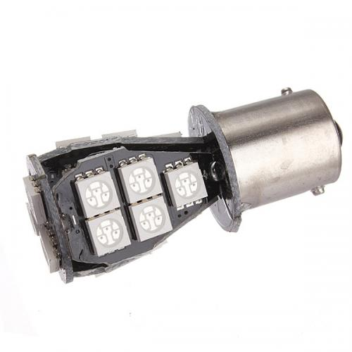 1156 LED Bulb - CANBUS 18 SMD LED Tower - BA15S Retrofit [White Light] - Perfect for Vehicle Tail Lights, Brake Lights, Reverse Lights, Turn Signals, ETC!