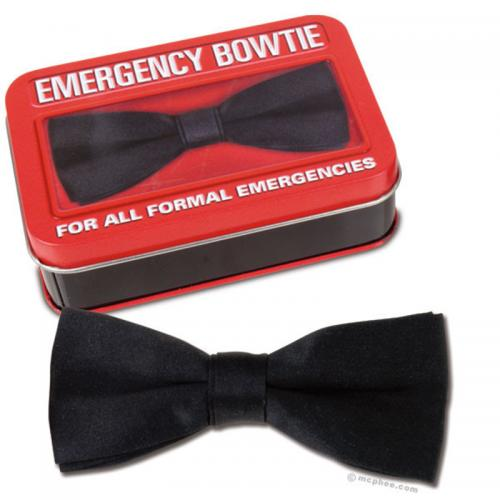 Emergency Bow Tie - For All Formal Emergencies!