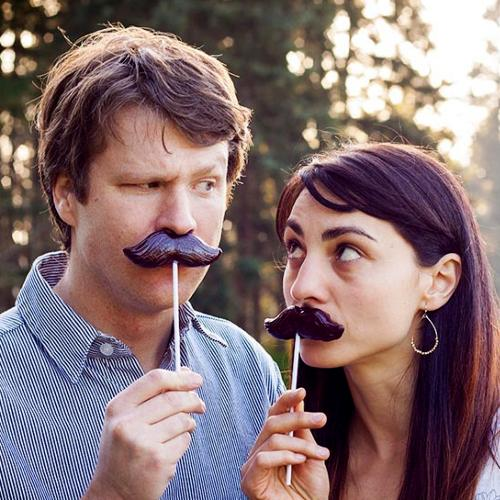 "Mustache Lollipop! 4.5"" Cola Flavored - [A Disguise and Treat and the Same Time! Great Gag Gift for Friends!]"