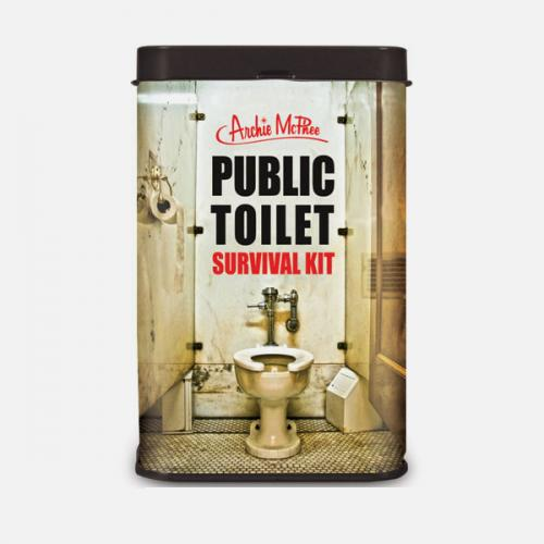 Public Toilet Survival Kit - Don't Venture Out Without One!