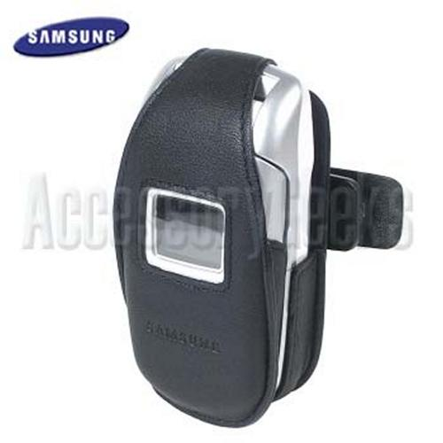 Original Samsung X495, X497 Leather Case, 17200000084