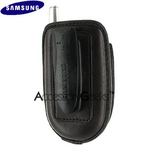 Original Samsung Leather Case/Pouch 17200000133 - Dark Brown