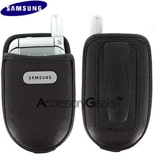 Original Samsung Universal Leather Case/Pouch 17200000133 - Dark Brown