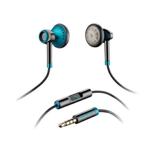 Plantronics BackBeat 116 Universal Earbud Stereo Headset w/ Remote (3.5mm) - Teal/ Black