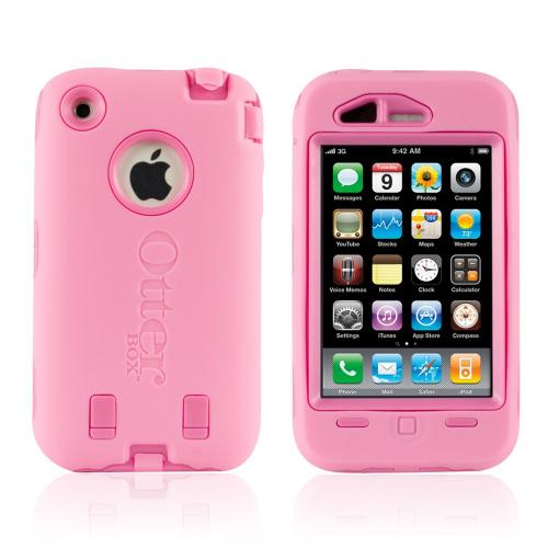 Original Otterbox Apple iPhone 3G 3GS Defender Case, 1942-02.5 - Pink