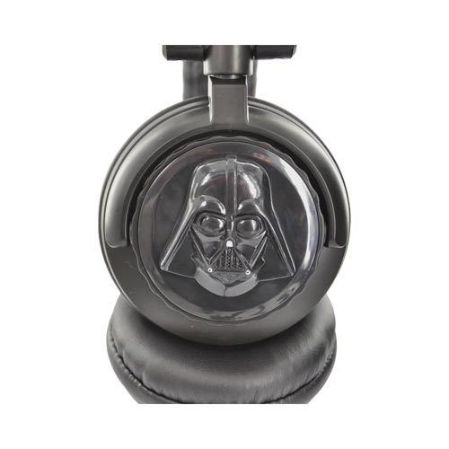 Original FunkoTronics Star Wars Darth Vader DJ Headset, 2065F (3.5mm) - Black