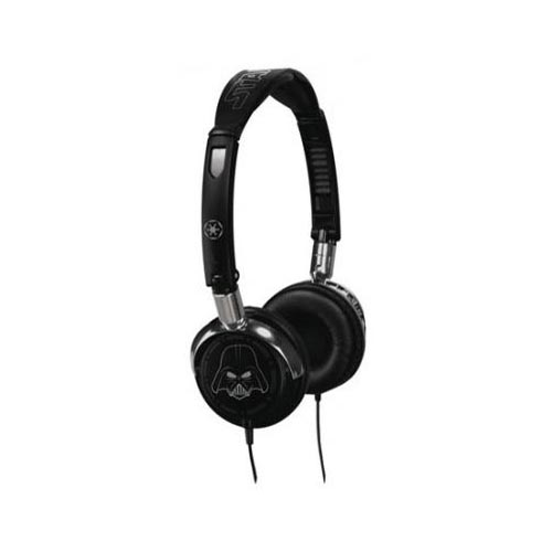 Original FunkoTronics Star Wars Darth Vader Foldable Headphones, 2170F (3.5mm) - Black