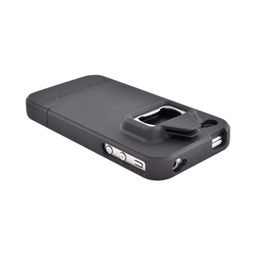 Be A Head Case Apple Verizon/ AT&T iPhone 4, iPhone 4S Rubberized Bottle Opener Case - Black