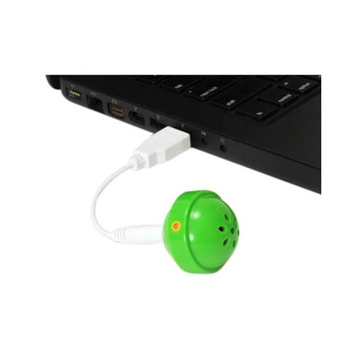 Original DCI iPod Nano/MP3 Lollipop Speaker w/ Cover, 26522-GR - Green (3.5mm)