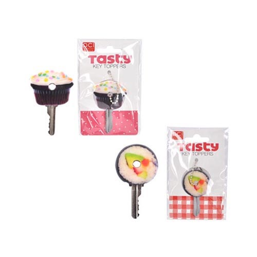 Original DCI Universal Tasty Key Toppers 8 Pack