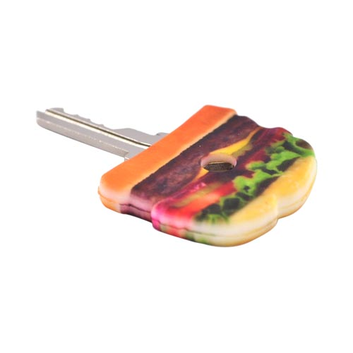 Original DCI Universal Tasty Key Topper, 26874-HAM - Brown Hamburger w, Lettuce