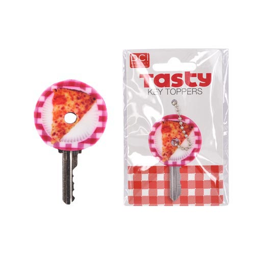 Original DCI Universal Tasty Key Topper, 26874-PZ - Pizza w,Red Plate