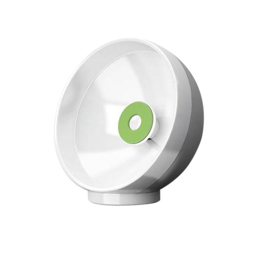 Clingo Cellphone Parabolic Sound Amplifier Sphere Holder, 30260 - White,Green