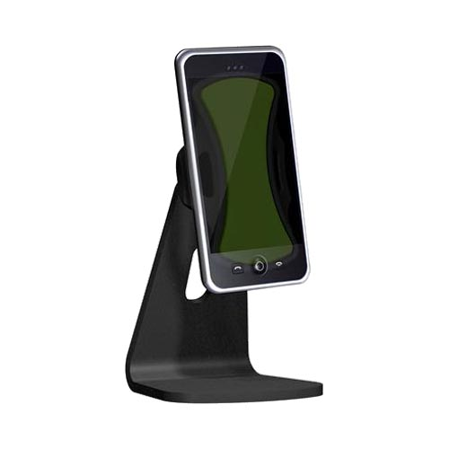 Clingo Universal Cellphone,Media Podium Stand Holder, 30262 - Black,Green