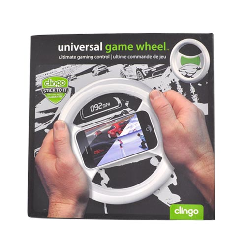 Clingo Cellphone Gaming Control Wheel, 30264 - Black,Green