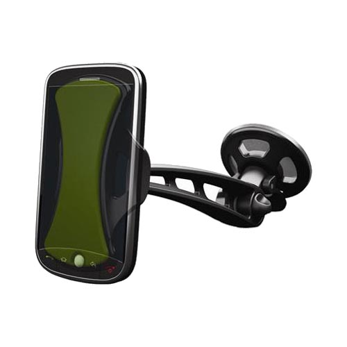 Clingo Universal Hands-Free Dash and Car Window Mount, 30272 - Black,Green