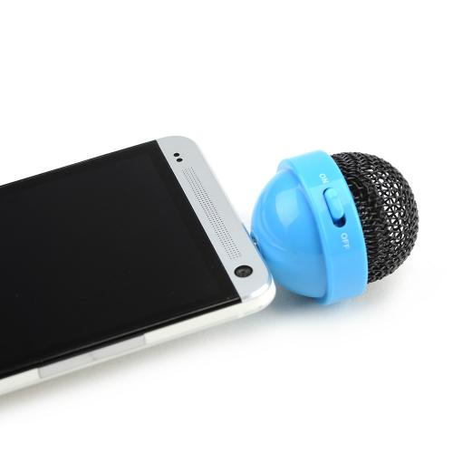 DCI® FunkyFonic Universal Microphone Speaker (3.5mm) w/ Charging Cable [Blue]