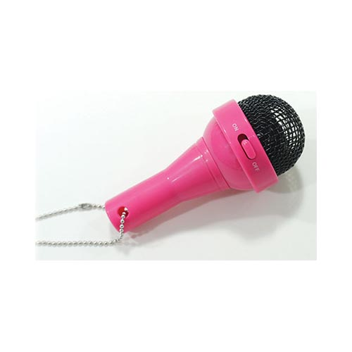 DCI® FunkyFonic Microphone Speaker (3.5mm) w/ Charging Cable [Hot Pink]