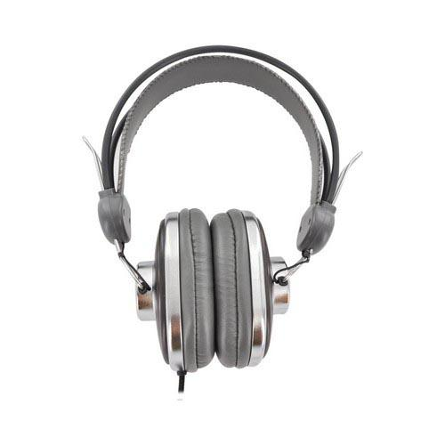 OEM Kinyo Retro Over-the-Ear Headphones w/ Ear Cushions (3.5mm) - Brown/ Black