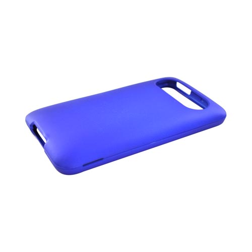 Premium HTC HD7 / HTC HD7s Rubberized Hard Case - Blue