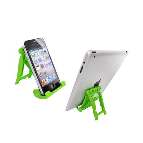 Original 3Feet Universal iPad/iPhone/Kindle Holder Stand, 3FLM - Green Lime