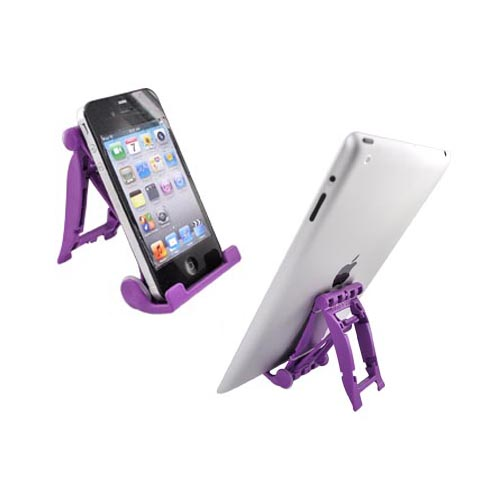 Original 3Feet Universal iPad/iPhone/Kindle Holder Stand, 3FPU - Fancy Purple