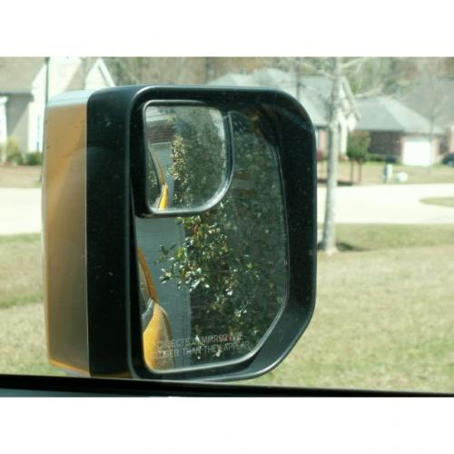 "Car Accessories [Black] Blind Spot Mirror Convex SR350 (1.97""x1.97"")"
