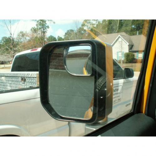 "Car Accessories [Silver] Blind Spot Mirror Convex SR350 (1.97""x1.97"")"