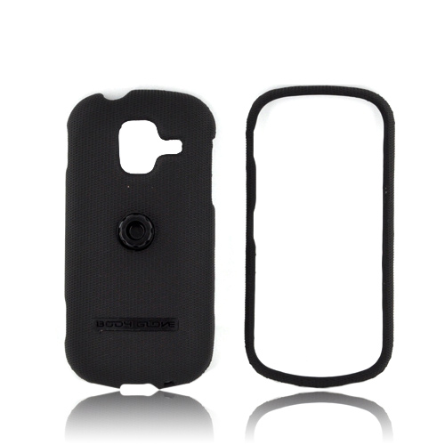 Body Glove Samsung Intensity 3 Flex Snap-On Hard Case w/ Swivel Belt Clip Kickstand - Black