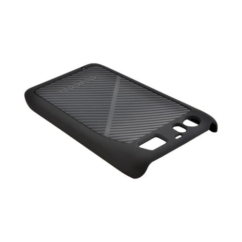 OEM Body Glove Motorola Atrix HD Slim Rubberized Hard Case, CRC92826 - Black