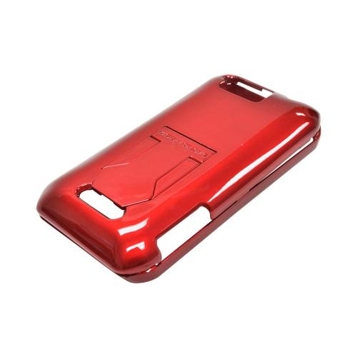 OEM Body Glove Kickback Motorola Photon Q 4G LTE Hard Case, CRC92858 - Red