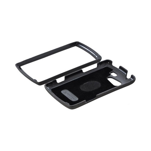 OEM Body Glove Flex Kyocera Rise Snap-On Case w/ Detachable Kickstand Belt Clip, CRC92959 - Black