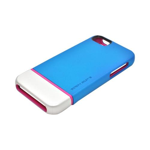 Body Glove Icon Hybrid Apple iPhone 5/5S Dual Layer Case - Teal/ Silver/ Pink
