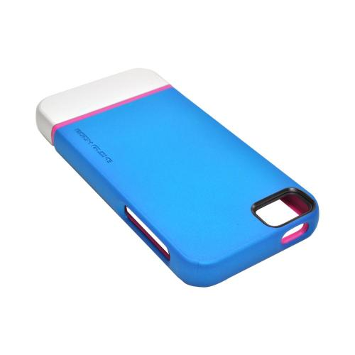 Apple iPhone SE / 5 / 5S  Case, Body Glove [Teal/ Silver/ Pink]  Dual Layer Case