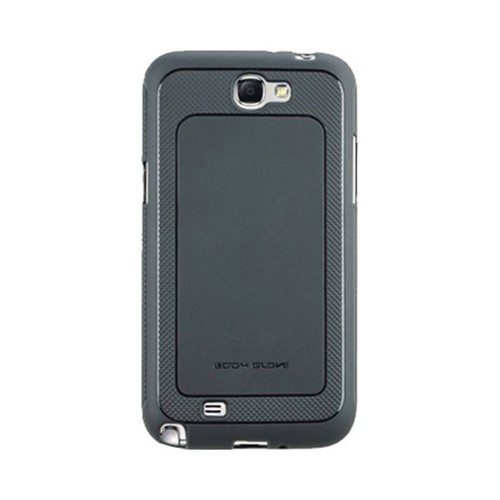 Body Glove Charcoal Dimensions Slim Protective Crystal Silicone Case for Samsung Galaxy Note 2