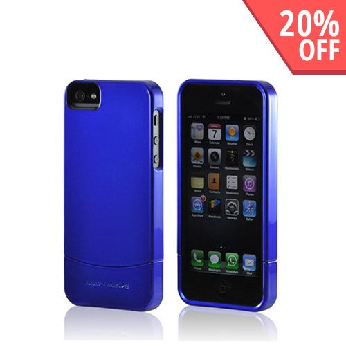 Body Glove Blue Vibe Series Hard Slider Case for Apple iPhone 5/5S