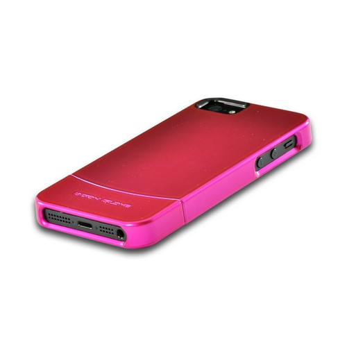 Apple iPhone SE / 5 / 5S  Case, Body Glove [Pink] Vibe Series Hard Slider Case