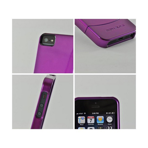 Body Glove Purple Vibe Series Hard Slider Case for Apple iPhone 5/5S