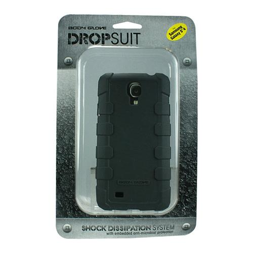 Body Glove Gray DropSuit Crystal Silicone Case w/ Textured Lines for Samsung Galaxy S4 - 9346101