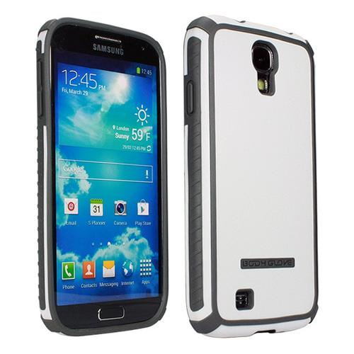 Body Glove White/ Gray Tactic Brushed Hybrid Hard Case for Samsung Galaxy S4 - 9346301