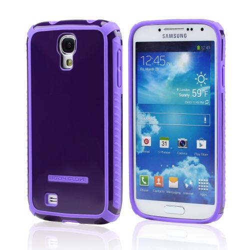 Body Glove Purple Tactic Hybrid Hard Case for Samsung Galaxy S4 - 9332203