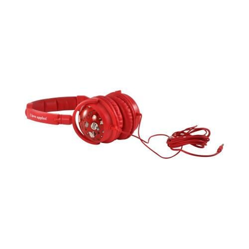 Sanrio Red Apples Hello Kitty Stereo Headphones w/ Microphone